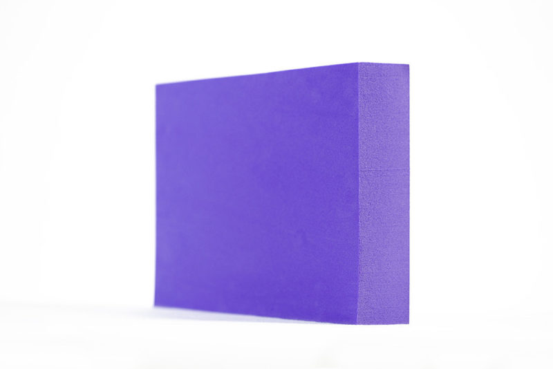 Purple Foam Block